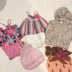 Bundle of 3-6M infant clothes